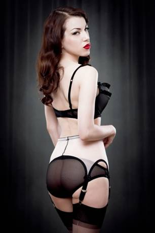 6fe20dcc36b This limited edition Van Doren pull-on style 6 strap suspender belt by Kiss  Me Deadly is in stock at Joanna s Wardrobe and is available for immediate  ...
